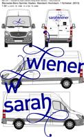 Autobeschriftung Sarah Wiener Entwurf