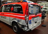 Fahrzeugbeschriftung Unfallschaden-Reparatur Entwurf