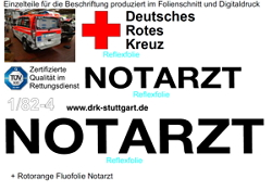 Fahrzeugbeschriftung Unfallschaden-Reparatur Teile